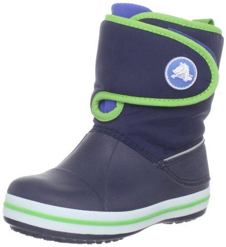 De Zapatos Gust lime Cierre Junior Velcro Con Crocs Green Youth Crocband Navy RFxqg0wF74