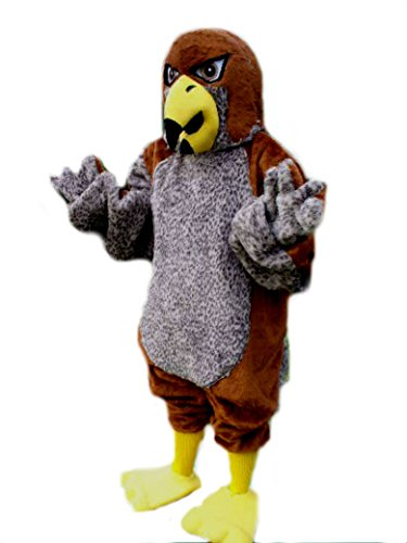 Mascots USA by CJs Huggables Custom Pro Low Cost Kestrel Falcon Mascot Costume