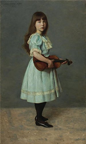 Space Girl Costume Au ('Lilla Cabot Perry,Portrait Study Of A Child,1891' Oil Painting, 18x30 Inch / 46x76 Cm ,printed On Perfect Effect Canvas ,this High Resolution Art Decorative Prints On Canvas Is Perfectly Suitalbe For Nursery Decoration And Home Decor And Gifts)