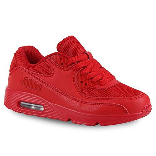 Bottes Unisexe Paradis Femmes Hommes Chaussures De Sport Course Sur La Taille Flandell Rouge