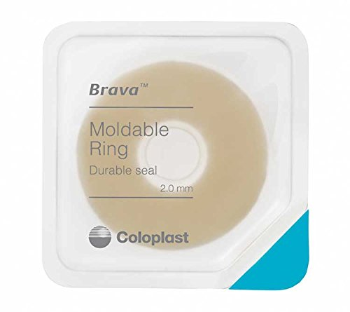 Brava Moldable Ostomy Rings, Sting-Free, 2.0 mm Thick 120307 (Box of 10)