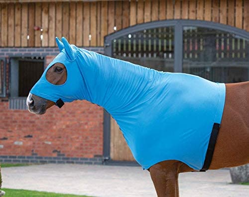 Shires Fine Mesh Fly Mask with Ears - Black