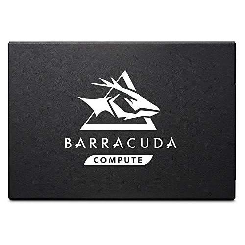 chollos oferta descuentos barato Seagate BarraCuda Q1 SSD de 960 GB Disco duro de estado sólido interno SATA a 6 Gb s de 2 5 pulgadas para actualización para PC portátil 3D QLC NAND ZA960CV1A001