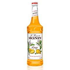 Experience the sweet and juicy flavor of the tropics. Our Mango Syrup is a perfect complement to your favorite tropical cocktails, sodas, lemonades and specialty beverages. Monin Mango Syrup mixes perfectly in your favorite cocktail, mocktail...