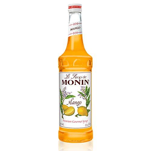 Monin - Mango Syrup, Tropical and Sweet, Great for Cocktails, Sodas, and Lemonades, Gluten-Free, Vegan, Non-GMO (750 ml) (Cruzan Mango Rum)