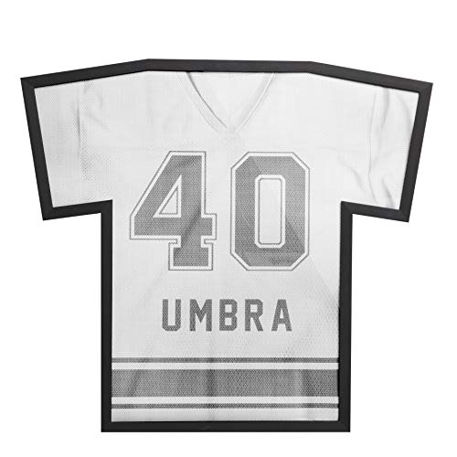 Umbra Sports Shirt Frame - Display Case For Hockey, Football and Rugby Jerseys Replaces Your Shadow Box, Fits up to XXL ()