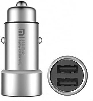 Xiaomi CZCDQ01ZM Auto Plata - Cargador (Auto, Universal, Encendedor de Cigarrillos, Plata, 12-24, 5 V): Amazon.es: Electrónica
