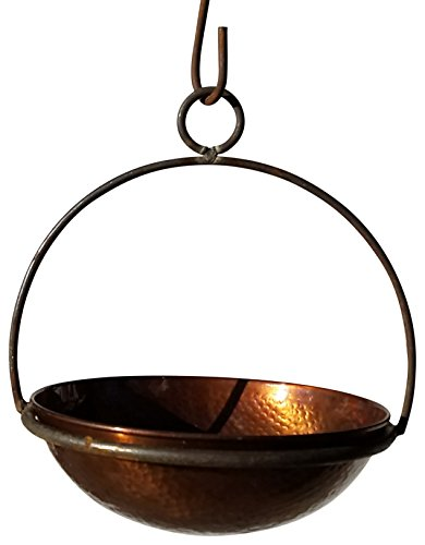 - Passage CH10-WOK-10-DHDC Hanging Planter, Hammered Copper