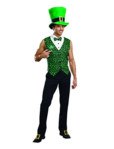 Dreamgirl Men's Irish You Were Naked Leprechaun