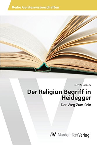 Der Religion Begriff in Heidegger (German Edition)