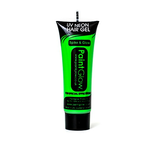 reen Hair Gel Various Colours Party Festival Rave 10ml ()