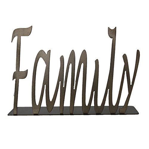 Tabletop Word Art (First Letter Capitalized, Family)