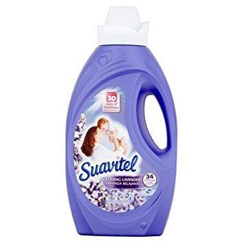 Suavitel Soothing Lavender Liquid Fabric Conditioner, 50 fl oz