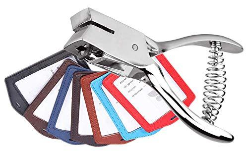 tessere Punzonatrice a mano per carta didentit/à cartellini e foto in PVC