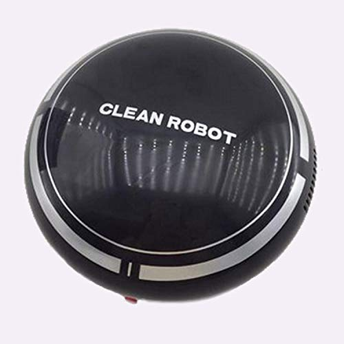 WHITE Lazy Vacuum Cleaner Sweeping Robot Charging Household Cleaner Works On Hard Floor /& Low Pile Carpet