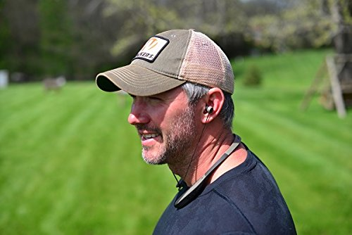 Walker Razor Behind The Neck Hearing Protection Ear Buds with Sound Amplification and Compression