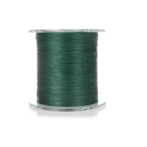 Docooler 300m 20lb 0.18mm Dyneema Fishing Line Strong Braided 4 Strands (Dark Green)