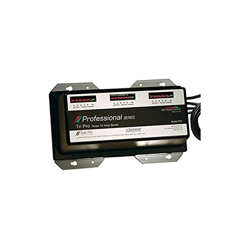 Dual Pro 15 Amp 3 Bank Charger