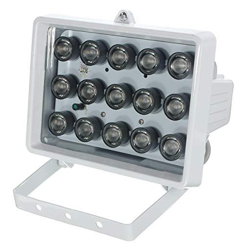 328ft 15LED 12V Night Vision Lamp IR Illuminator Infrared For Security Camera - CCTV Security Accessories Infrared Illuminator - 325 x Breadboard jumper -