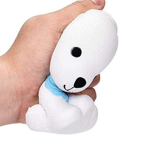 Ketteb Baby Toys Jumbo Squishy Cute Puppy Scented Cream Slow Rising Squeeze Decompression Toys ()