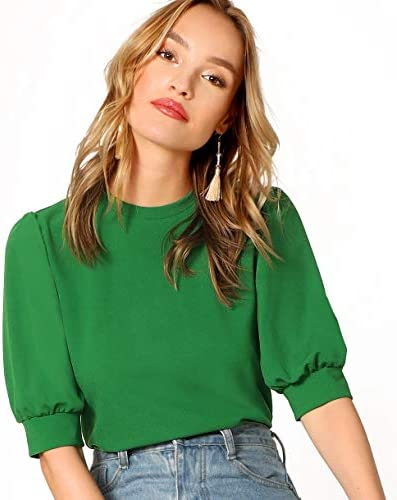 SheIn Womens Sleeve Pullover Keyhole product image