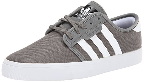clearance great deals geniue stockist online adidas Men's Seeley Mid Cinder/Running White/Black (Canvas) discount outlet locations cheap sale genuine shop for sale 9j80eo