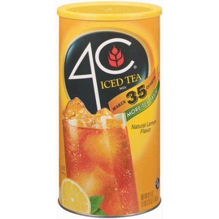 4c Lemon Iced Tea Mix, 5 lb 7.9 Ounce (Pack of 5) by 4C