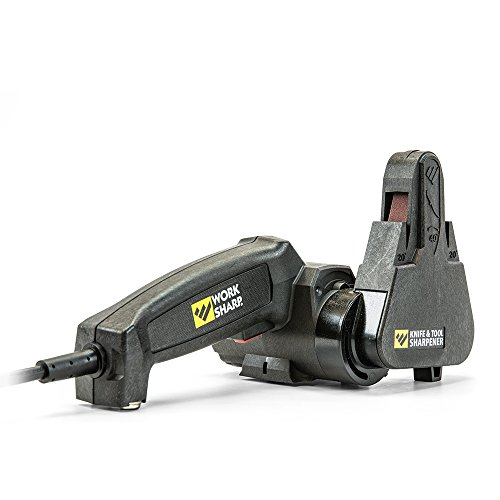 Work Sharp Knife & Tool Sharpener - Fast, Easy, Repeatable, & Consistent Results (Garden Tools Works)