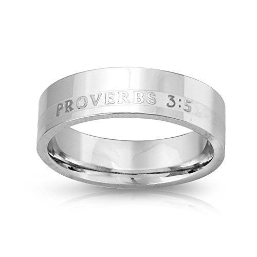 Stainless Steel Christian Bible Verse product image
