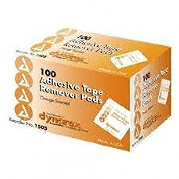 Dynarex Adhesive Tape Remover Pad - Box