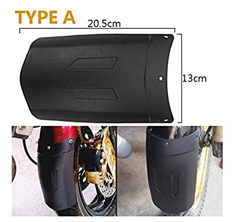 YONGYAO Motorcycle Front Rear Wheel Cover For Fender Extension Extender For HONDA//Yamaha//Kawasai//BMW//Benelli-A