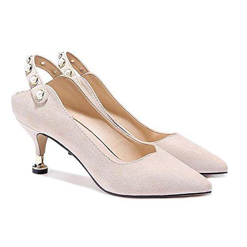 Chaussures 6 Mode White Sexy Travail 4 36 Off UK Nu 5cm Discothèque Chats Cour De Chaussures Femme EU Soirée Talons Haute Mariage wqS0xta