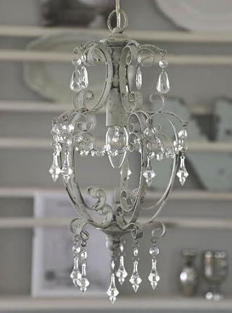 Chic Antique * Kronleuchter, Deckenleuchte, Lampe, Antik Look, Shabby, 22x40 Design