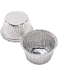 Get Aimeart Disposable Circular Cake Tins Egg Tart Molds Shells 150 Pcs Set online