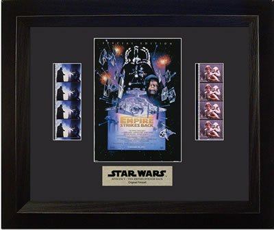 Star Wars Episode V: The Empire Strikes Back Framed Double Film Cell Presentation -