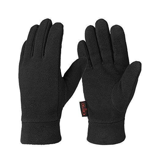 Trimmed Wool Leather - Winter Gloves For Men And Women Hand Protection Polar Fleece And Cotton Lining