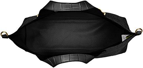 Versace Damen Ee1vrbbo2_e70049 Henkeltasche, 13x31x38 cm Schwarz