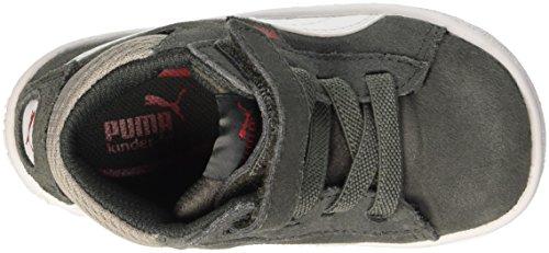Puma  1948 Mid V Inf, Jungen Sneaker grau Grigio (Dark Shadow/Bianco) 24 EU (7 UK)