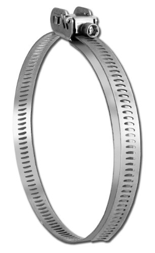(Pro Tie 33703 Quick Release All Stainless Steel Hose Clamp, Range 1-5/8
