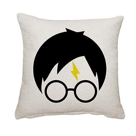 Charo Gifts Harry Potter Meme - Cojín Cuadrado de Lino con ...