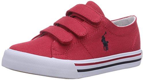 Ez Polo Rot navy Scholar Basses Canvas Pp Lauren Mixte red Rouge Red Enfant Ralph Baskets W xxrRtq