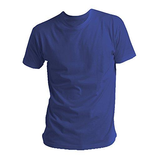 4eeb42974e716e SOLS Mens Regent Short Sleeve T-Shirt (XL) (Denim)