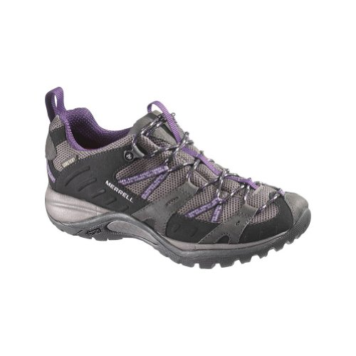 Womens Siren Sport Gore Tex (Merrell Siren Sport Gore Tex Womens Walking Shoes UK 5 Black Perfect Plum)