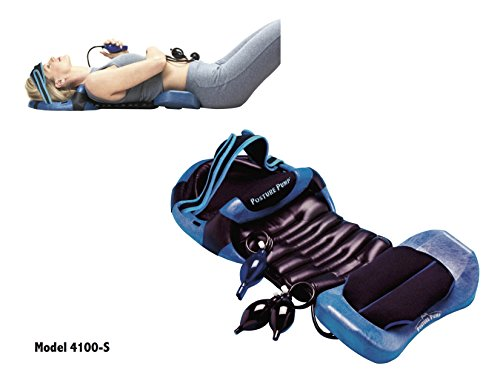 POSTURE PUMP Relief For Neck and Back Pain - Deluxe Full Spine Model 4100-S (Single Air Cell Cervical) DISC HYDRATOR