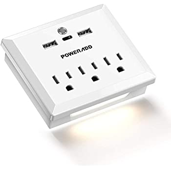 Usb Charger Outlet High Speed Usb Wall Outlet Led Sensor