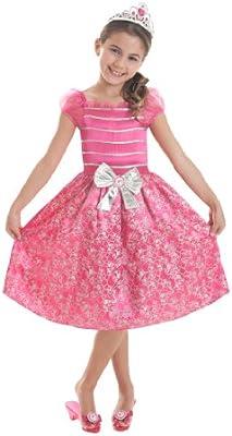 The Party Book - Disfraz de princesa para niña, talla 4-6 años ...
