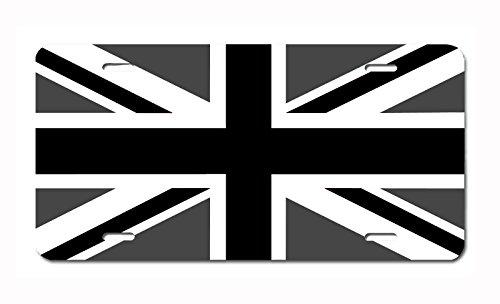 - Carpe Diem Designs Union Jack British Flag License Plate, Made in The U.S.A.