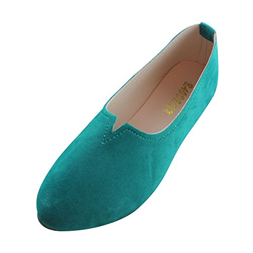 Woman Flats Comfortable Flats Ladies Working On Shoes Womens Shoe Green Shoes Casual MISSMAO Boat Grass Color Pregnant Candy Slip Shoes Loafers ETXnqw
