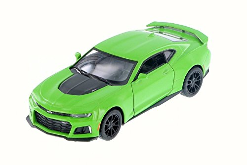 KiNSMART 2017 Chevrolet Chevy Camaro ZL 1 Green Color 1:38 DieCast Model Toy Car Collectible