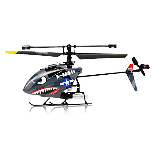 Hero RC H911 2.4GHZ iRocket 4 Channel Fixed Pitch Ready to Fly Helicopter with Battery, Balance Bar, Main Blade, Connect Buckle, Tail Blade and USB Charger